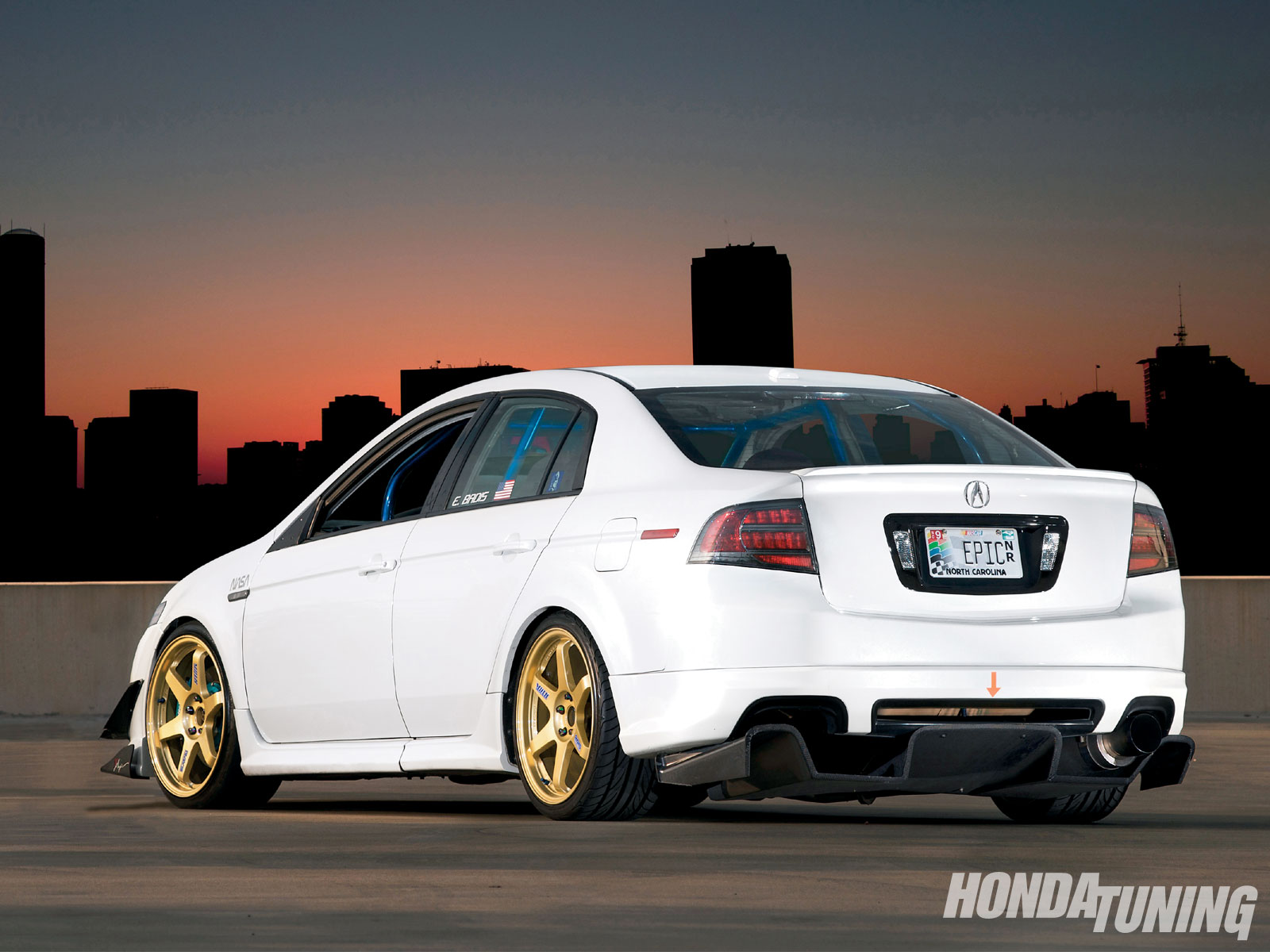 2005 Acura Tl Daring To Be Different Honda Tuning Magazine