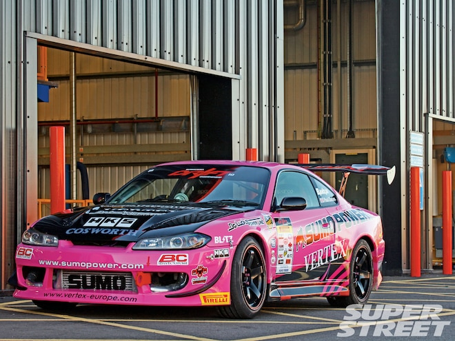 Nissan Silvia S15 And 2010 Nissan GT-R GT1 - Properly Mental