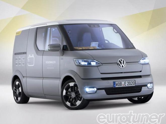 Volkswagen eT! Delivery Van Concept - Web Exclusive