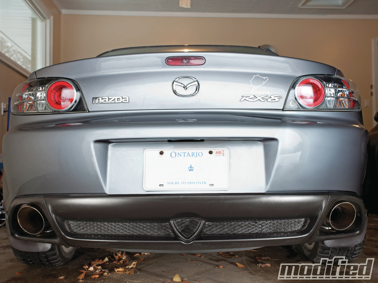 2005 Mazda RX-8 - Adding Bark & Bling - Project RX-8