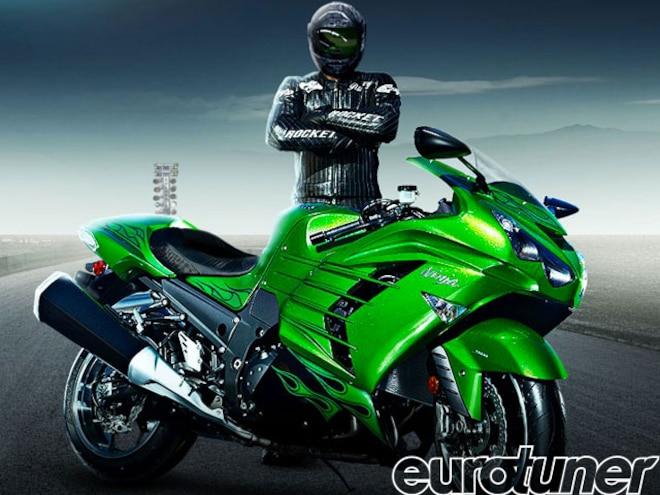 2012 Kawasaki Ninja ZX-14R - Drag Race Rickey Gadson on Kawasaki Ninja ZX-14R - Web Exclusive