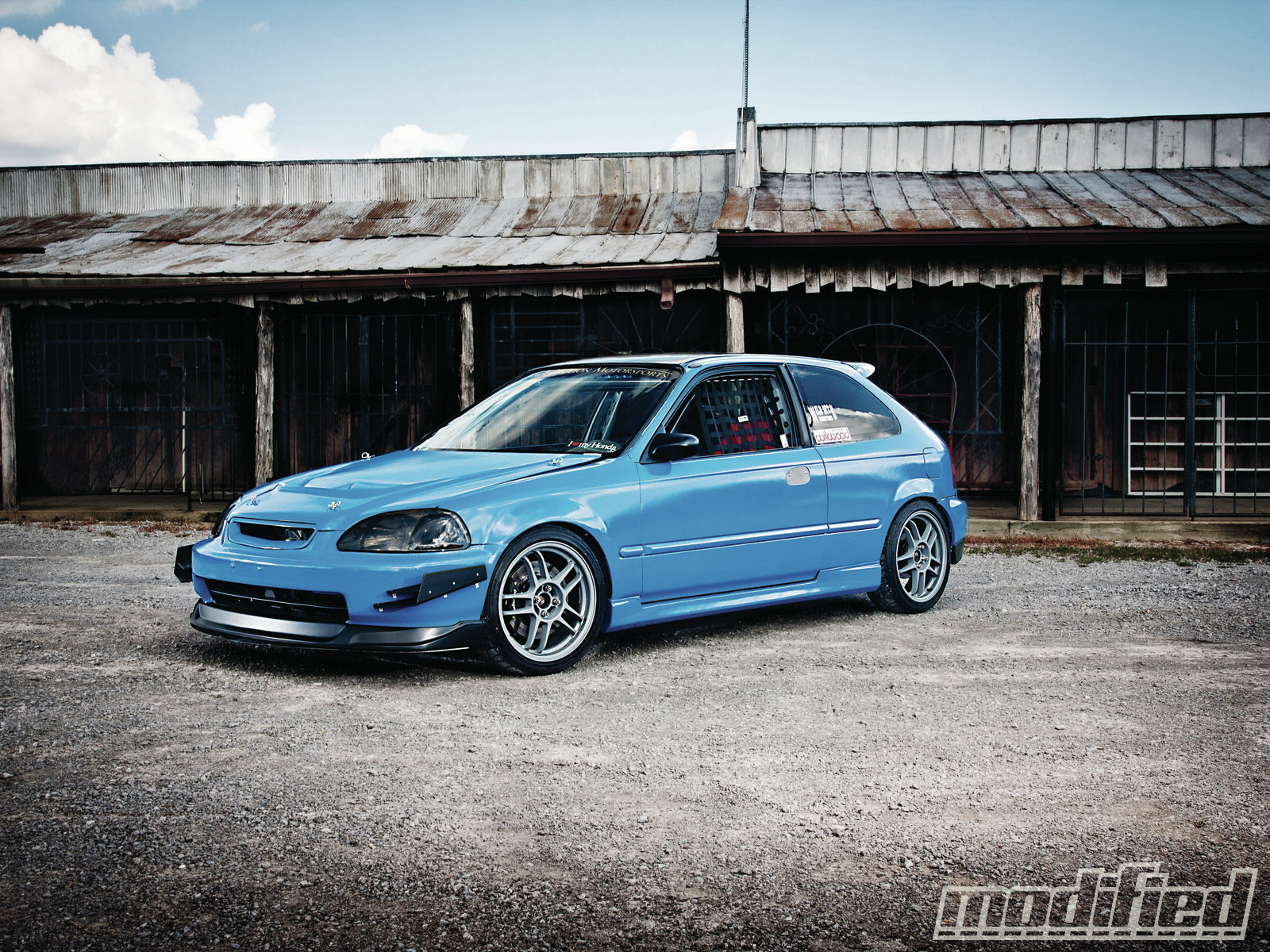 1996 Honda Civic Brian Bullock Modified Magazine