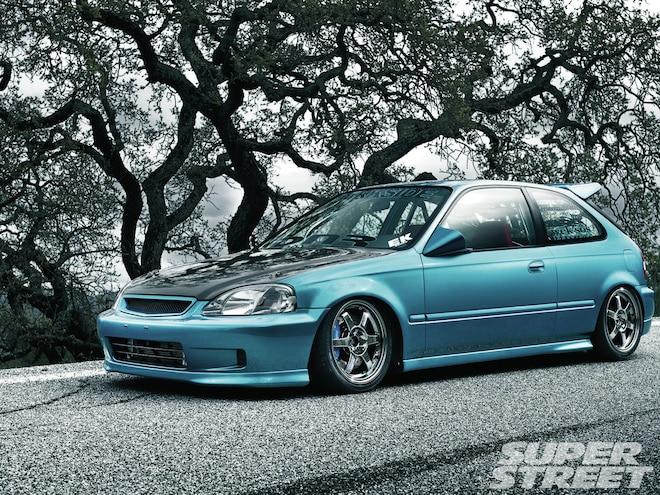 2000 Honda Civic CX - Hometown Glory