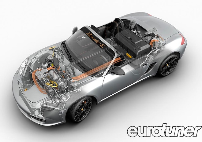 Electric Porsche Boxster E - Web Exclusive