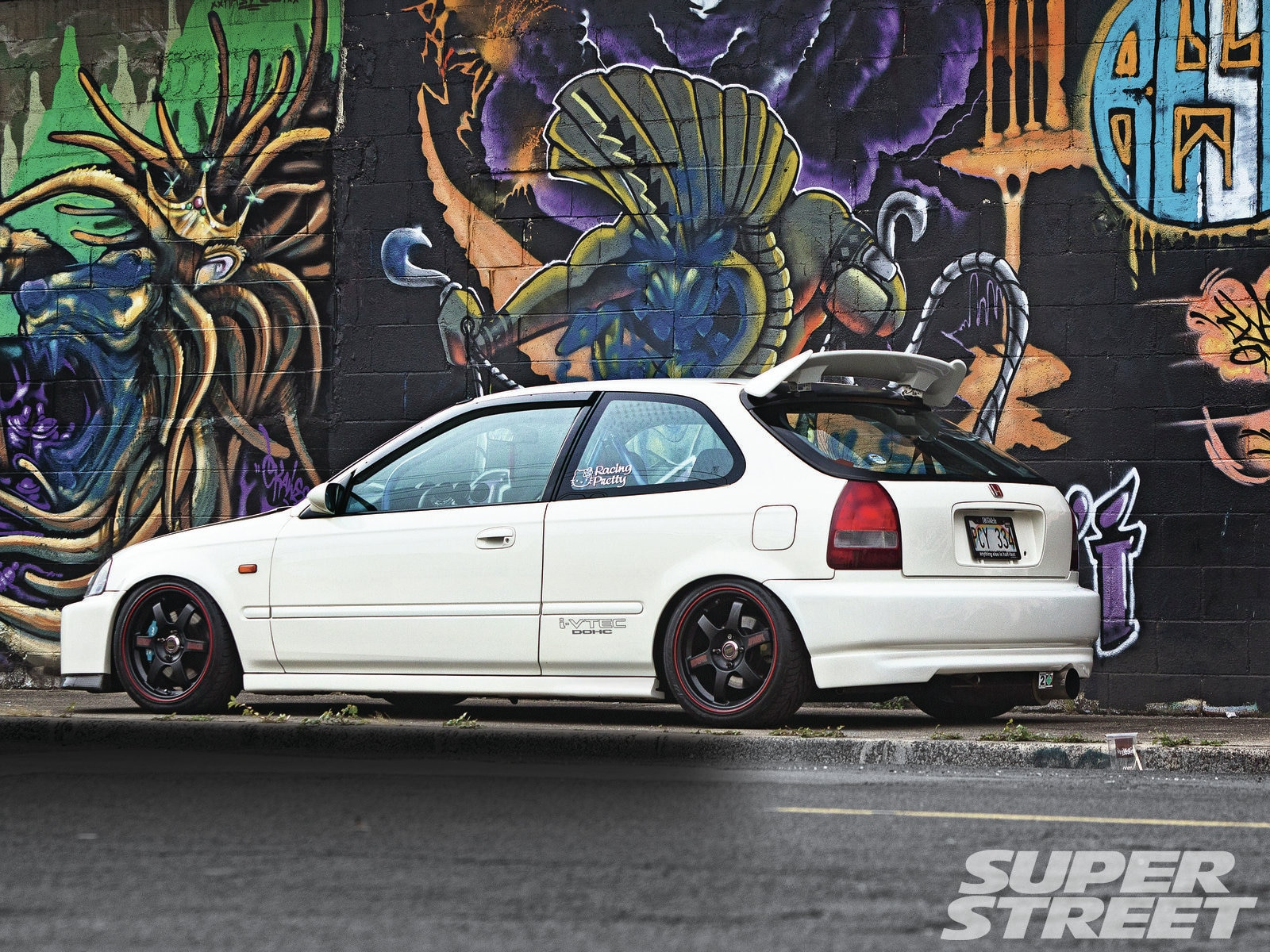 1997 Honda Civic Smackdown Super Street Magazine