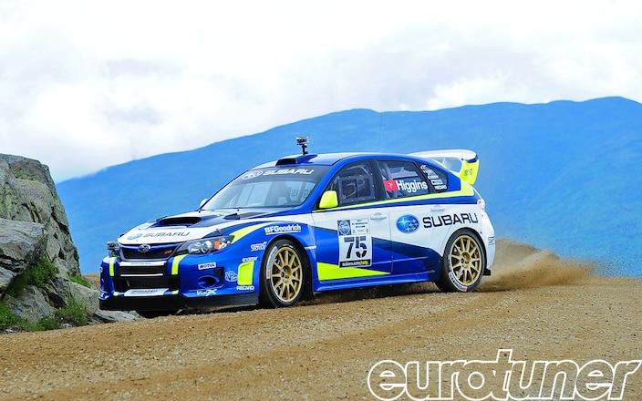 David Higgins Subaru WRX STI Mt. Washington Hillclimb Record on Video - Web Exclusive