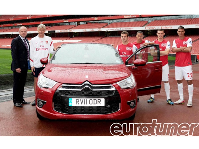 Arsenal FC Extend Partnership With Citroen - Web Exclusive