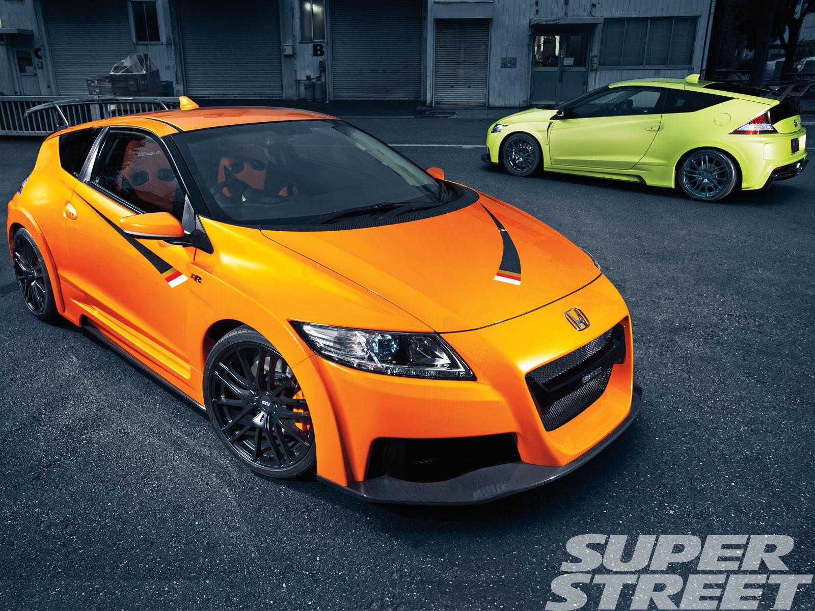 Honda Cr Z Mugen Rr Pre Production And Honda Cr Z Mugen Rr Concept Without Limits Super Street Magazine