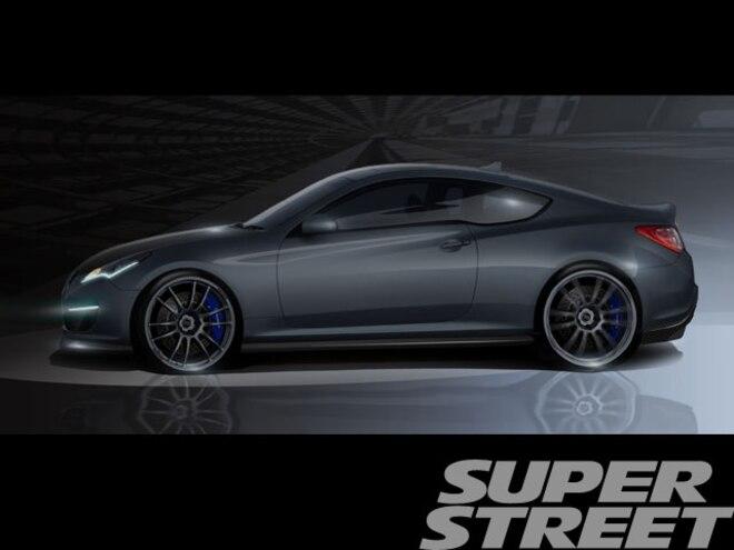 Genesis Hurricane SC to Create a Storm at 2011 Sema Show - News