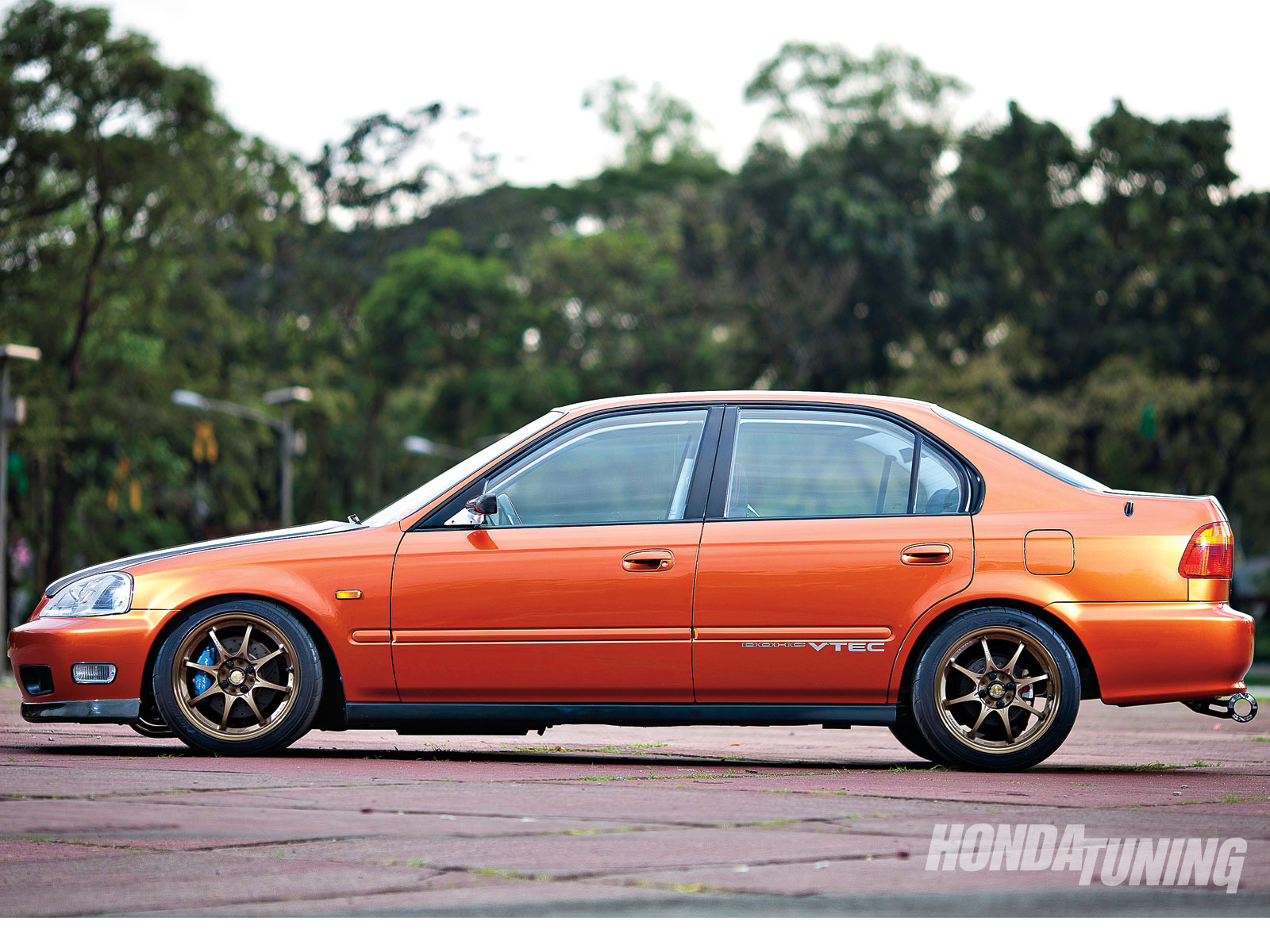 2000 Honda Civic Sir Sedan Honda Tuning Magazine