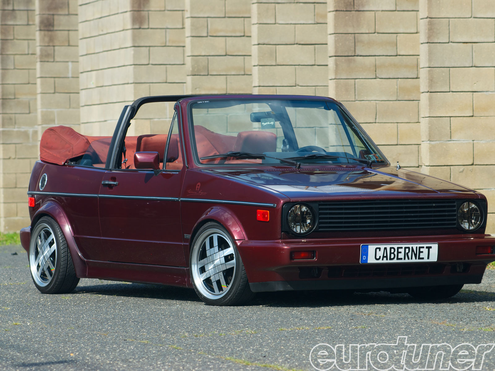 1991 Vw Cabriolet Etienne Aigner Edition Flirting With Trash Web Exclusive Eurotuner Magazine