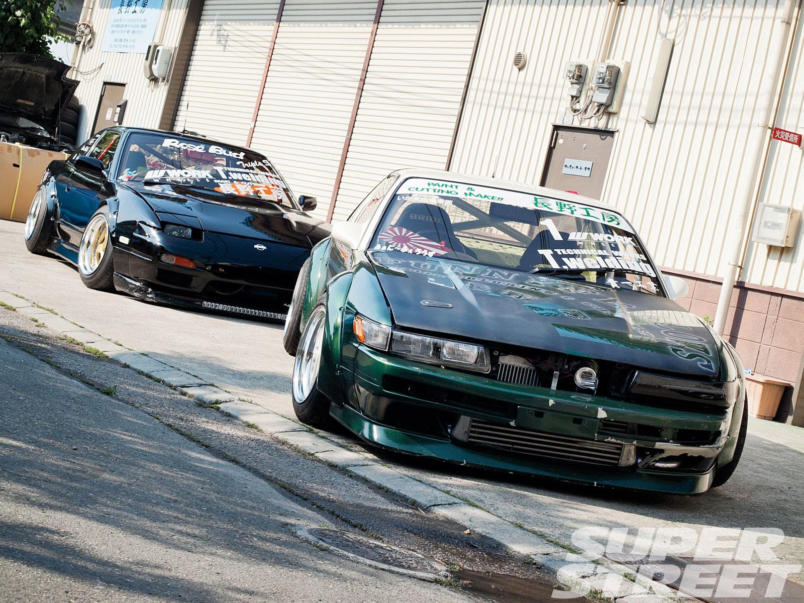 1988 Nissan Silvia S13 And 1990 Nissan Silvia Onevia S13 Double Your Pleasure Super Street Magazine