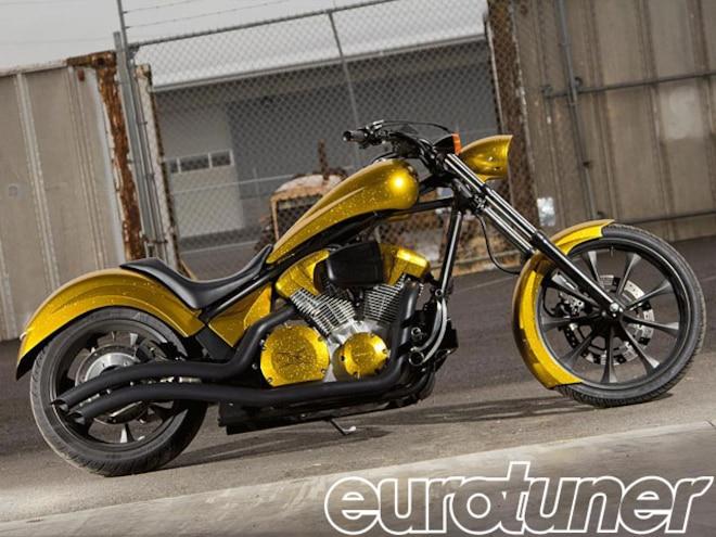 Custom Honda Fury Giveaway at Ultimate Builder Cutsom Bike Show - Web Exclusive