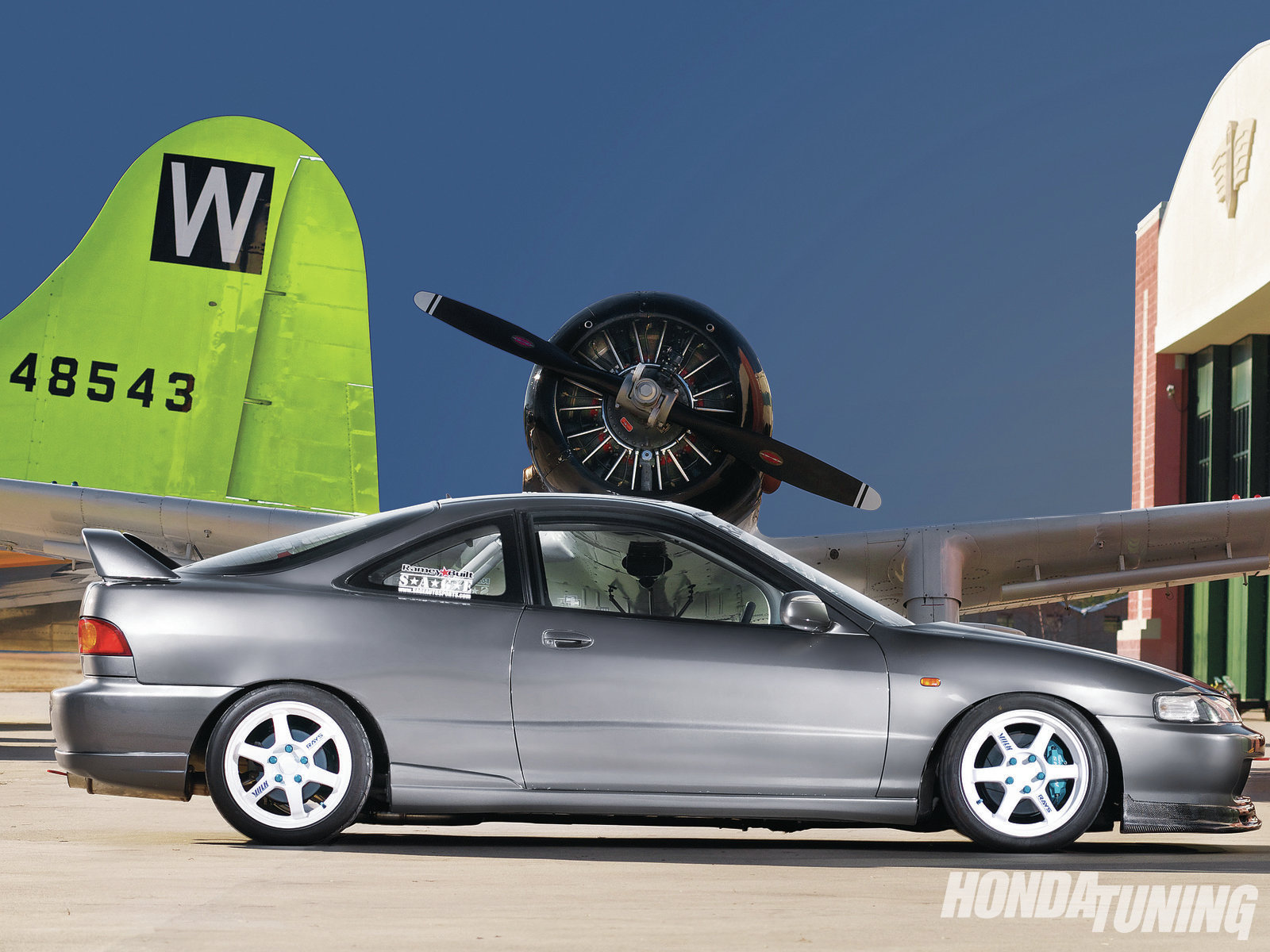 2001 Acura Integra Gs R Born Again Honda Tuning Magazine