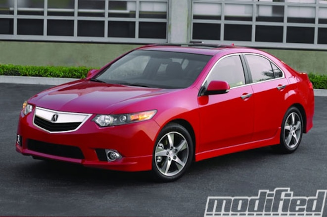 2012 Acura TSX Special Edition - Acura Turns 25 - Spinout