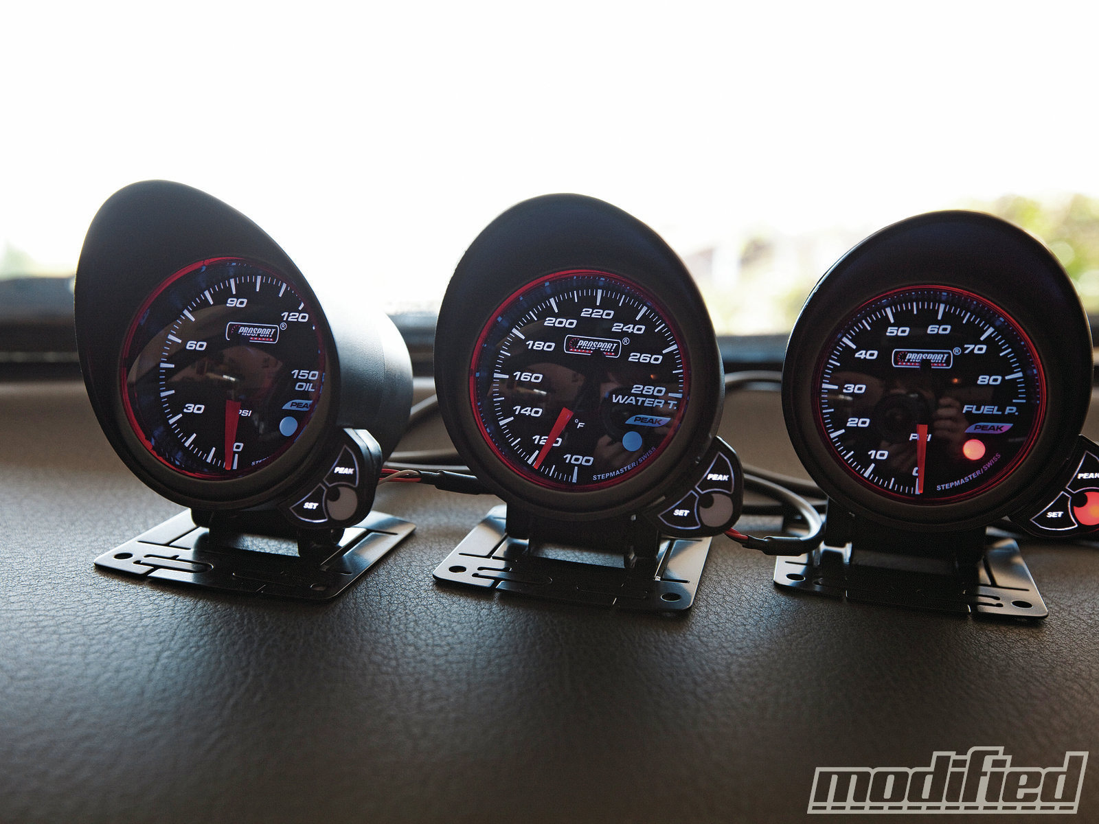 Remarkable Prosport 52Mm Halo Series Gauges Proving Grounds Modified Magazine Wiring 101 Orsalhahutechinfo