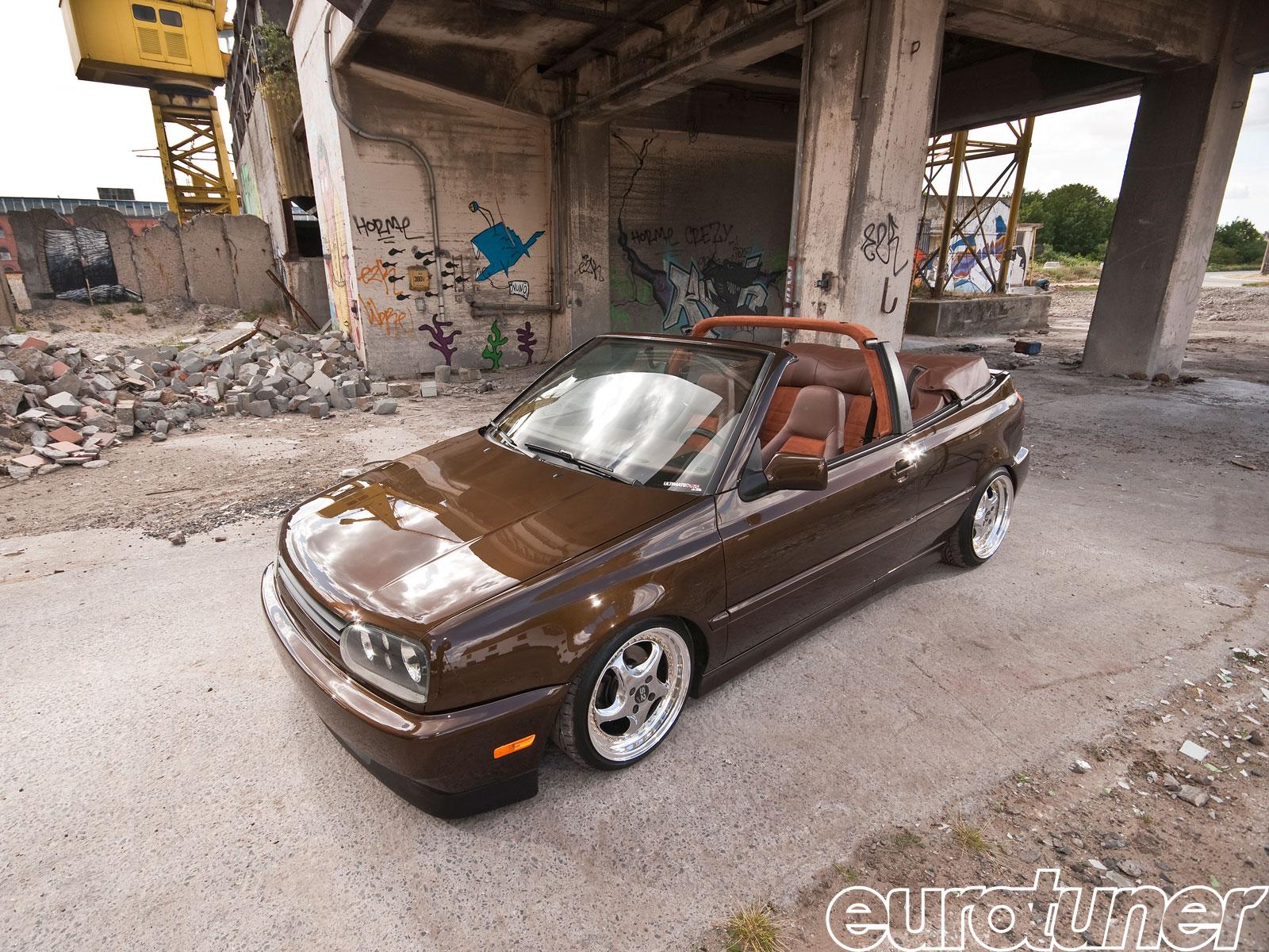 1993 Mk3 Vw Golf Cabriolet Giuseppe Reho S Brown Vision