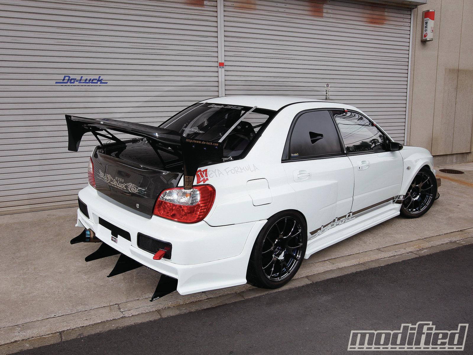 2002 Subaru Impreza Wrx Modified Magazine
