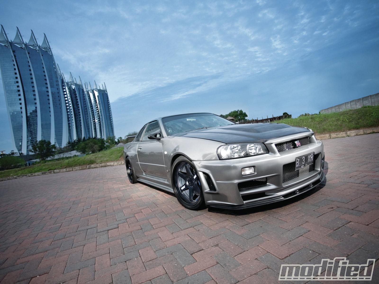 2002 Nissan Skyline Gt R V Spec Ii Godzilla Spotted Modified Magazine