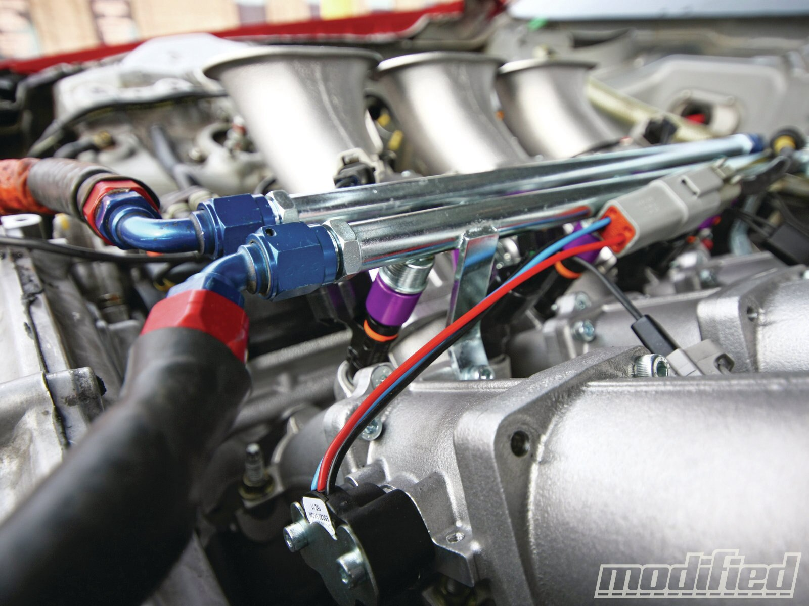 nissan 350z vq35de engine build modified magazine Nissan RB30 Engine