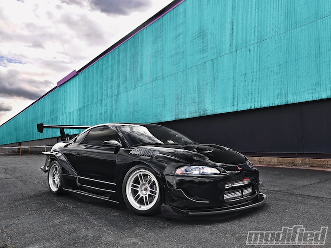 1995 Mitsubishi Eclipse GSX - Modified Magazine