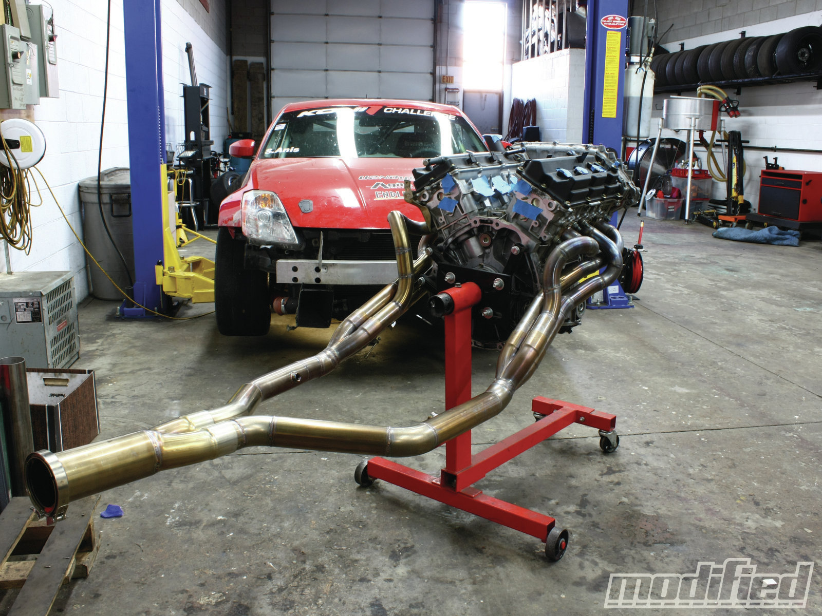 Nissan 350Z VQ35DE Engine Build - Modified Magazine