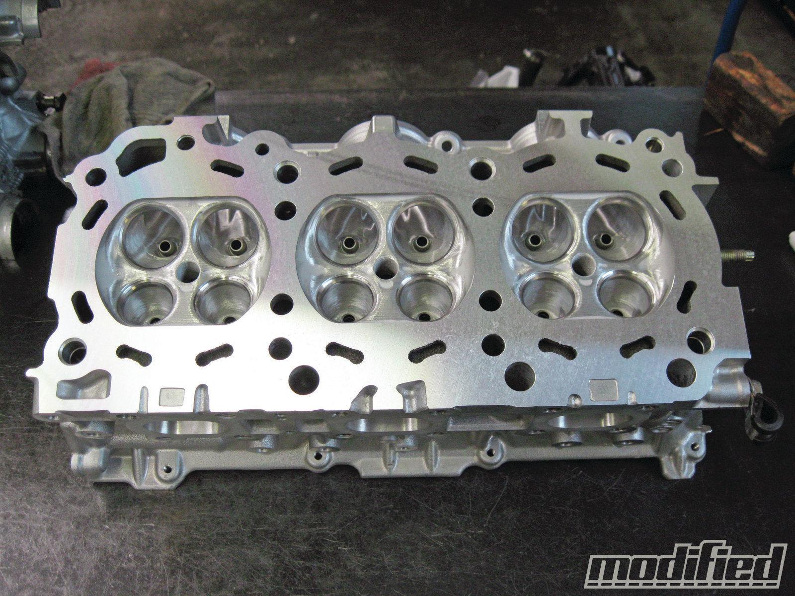 Nissan 350Z VQ35DE Engine Build - Modified Magazine