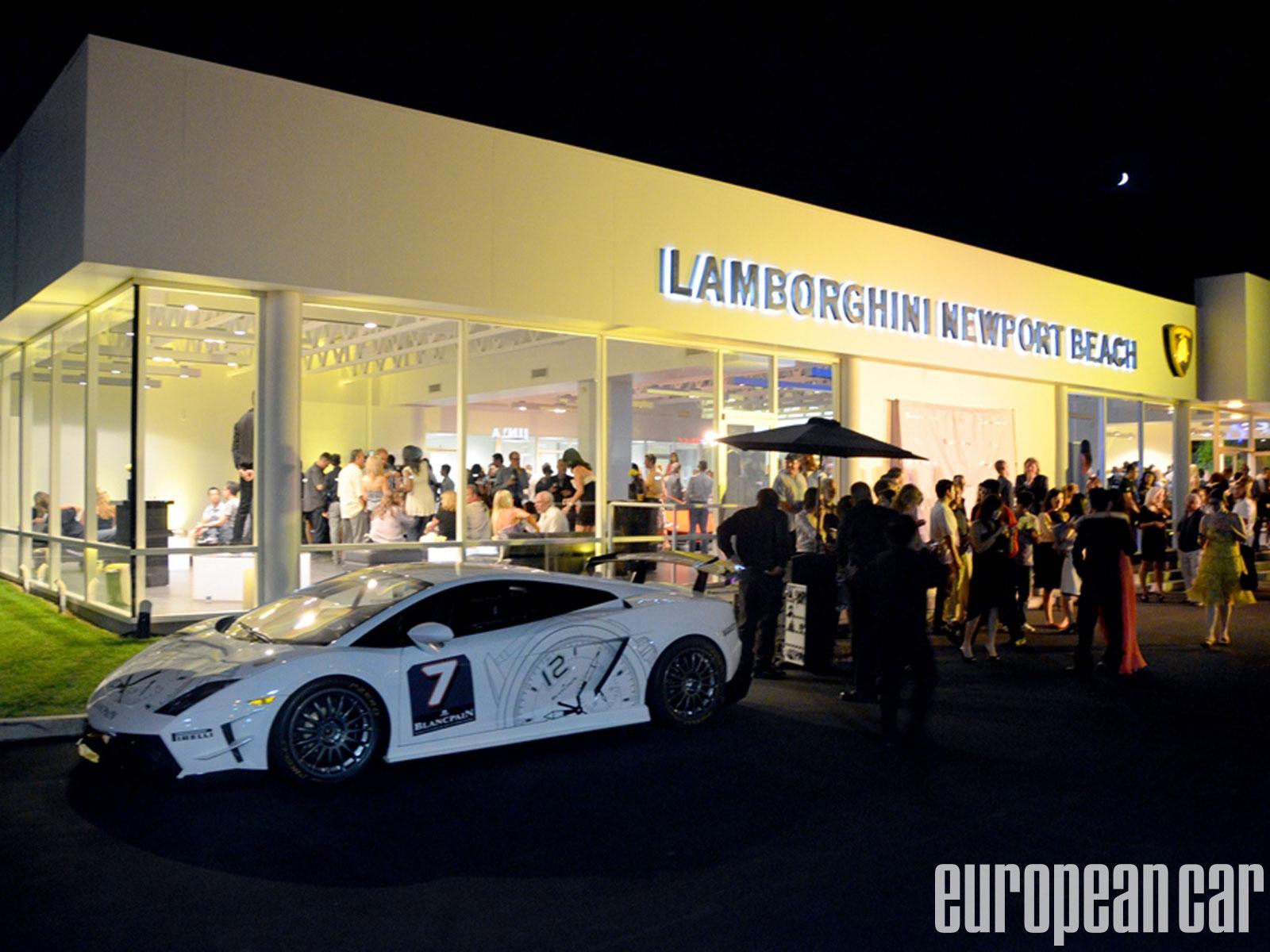 Lamborghini Newport Beach Grand Opening Web Exclusive European Car Magazine