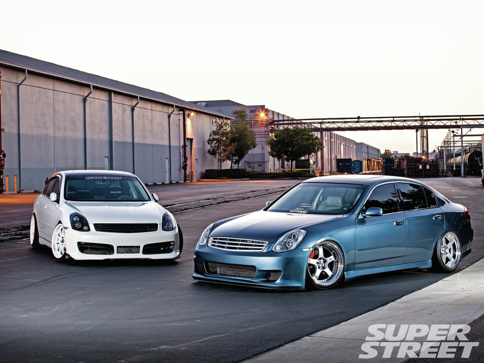 2003 And 2005 Infiniti G35 Super Street Magazine