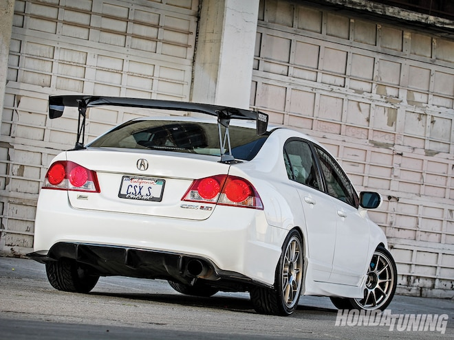 2007 Acura CSX Type S Js Racing Type S Rear Diffuser 01
