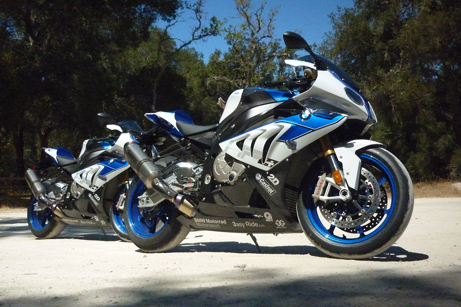 2013 BMW HP4 Review Side View 02