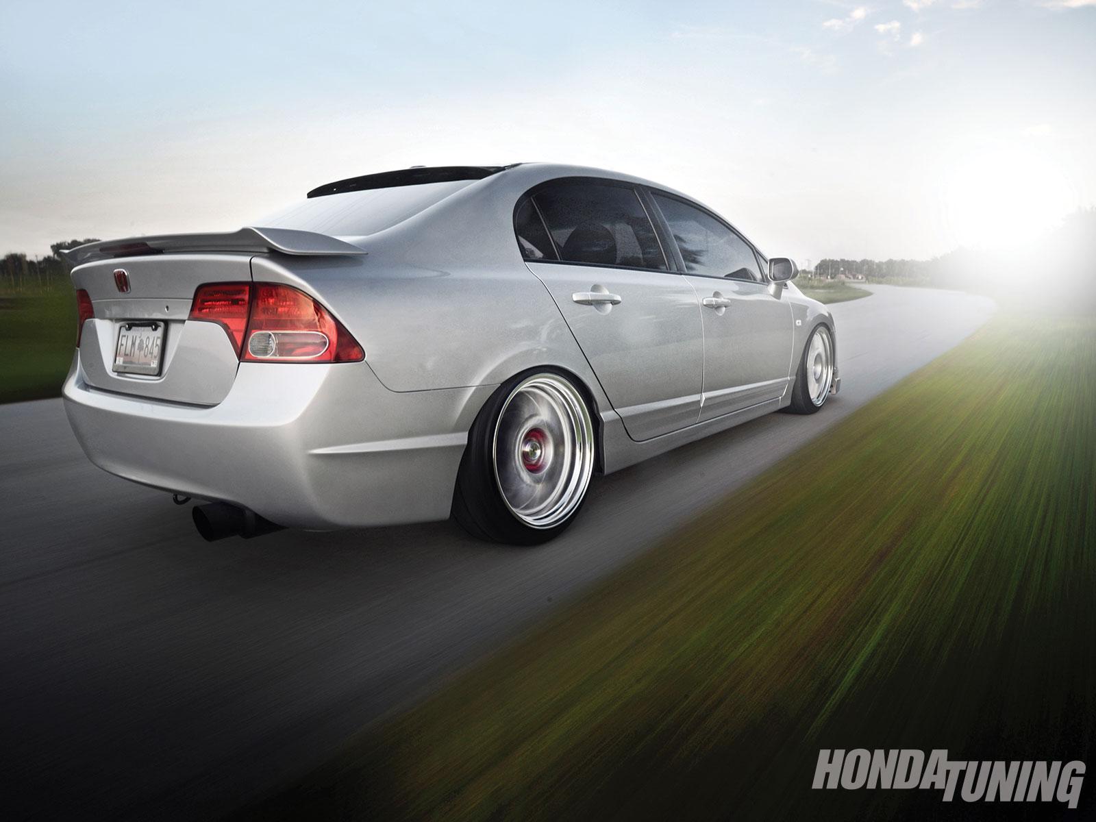 2007 Honda Civic Si Sedan Honda Tuning Magazine