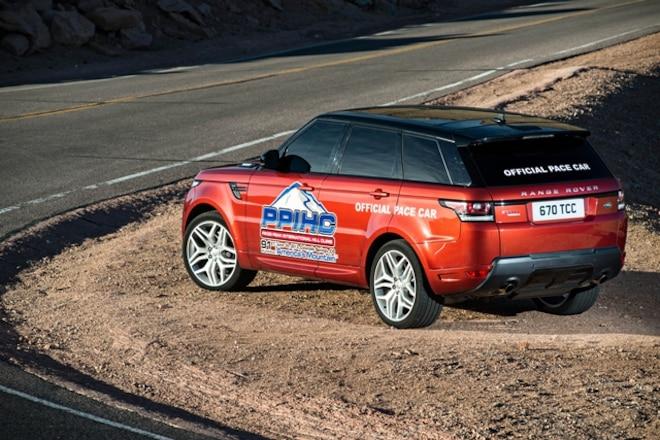 Range Rover Sport Pikes Peak Pace Car
