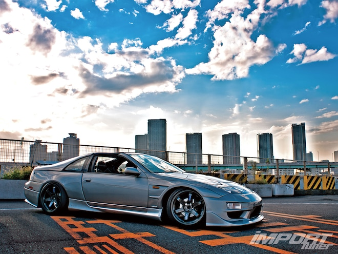 2000 Nissan Fairlady Z32 Border Side Skirts 01