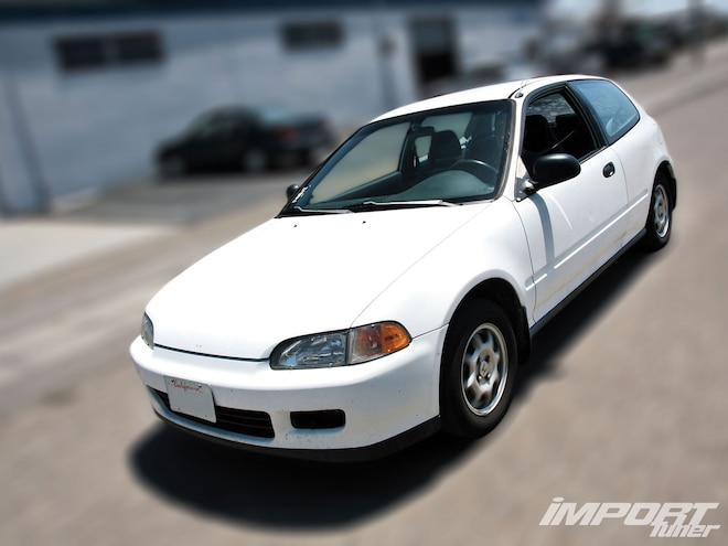 1992 Honda Civic VX Project Sipper 01