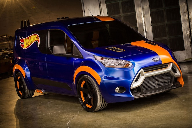 201 Ford Transit Connect New Look Hot Wheels