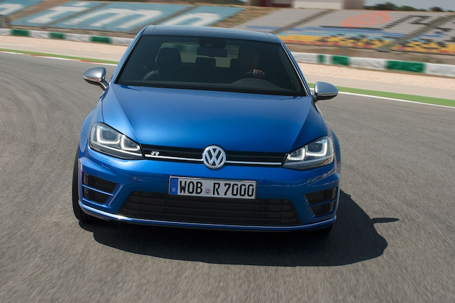 2014 VW Golf R Front Fascia 04