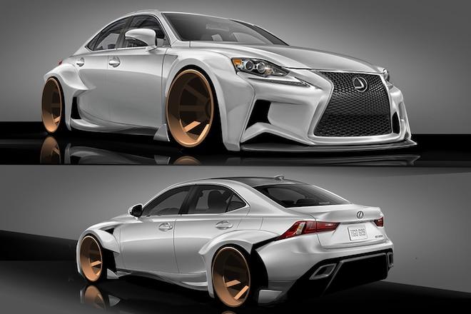 2014 Lexus IS F Sport DeviantART Designs