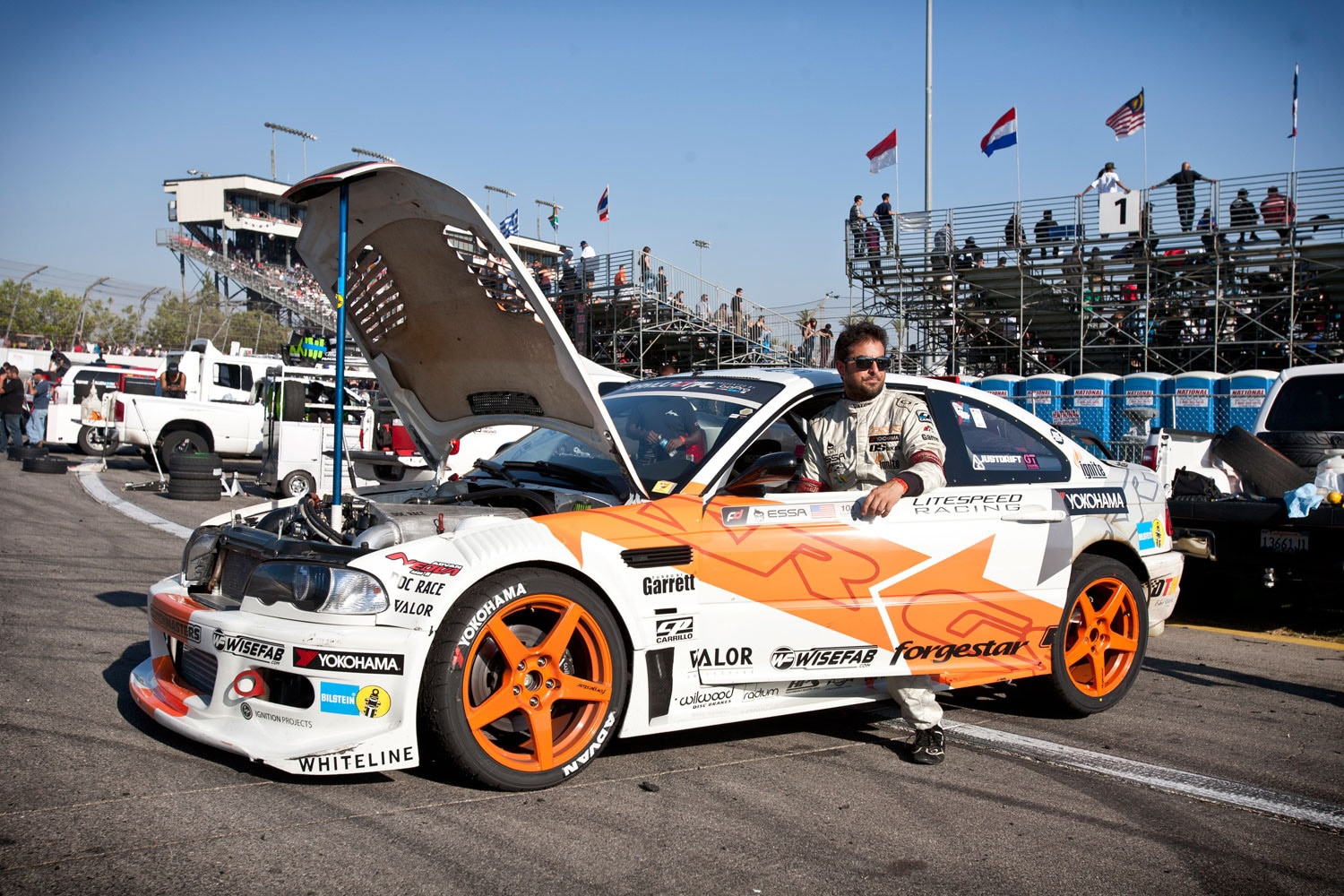 Formula Drift Final Fight 2013 Essa Exit Flipper