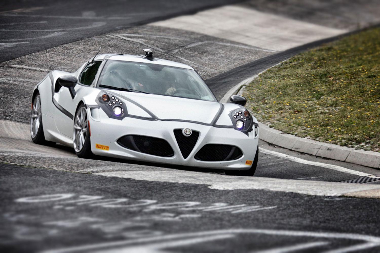 Alfa Romeo 4C Sets Nürburgring Record - European Car