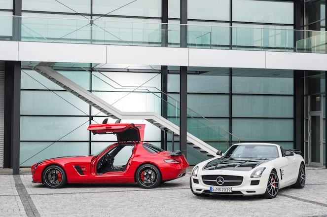 2015 Mercedes Benz SLS AMG GT Final Edition