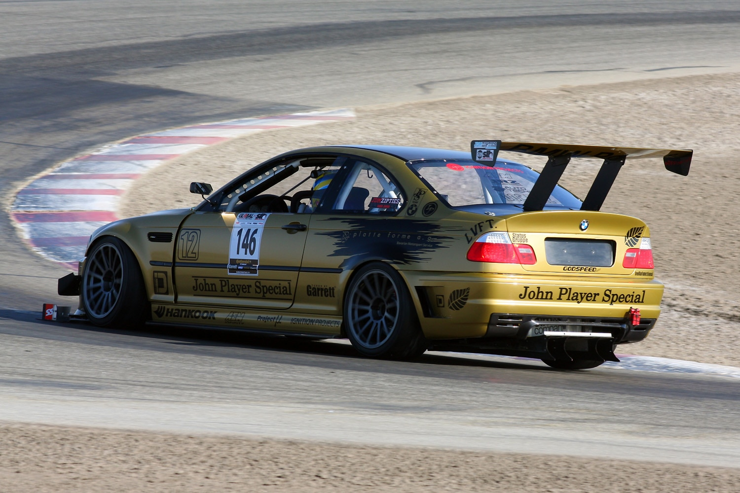 Euros Super Lap Battle GTA 2013 Tyler Mcquarrie Limited RWD Platte Forme Ag BMW E46 M3 Rear Wing