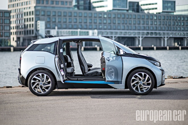 2014 BMW I3 Passenger Side Profile 01