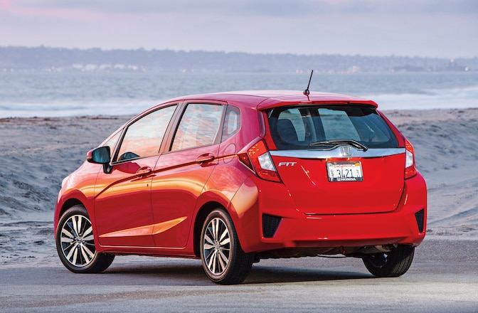 2015 Honda Fit Driver Side Rear View 01