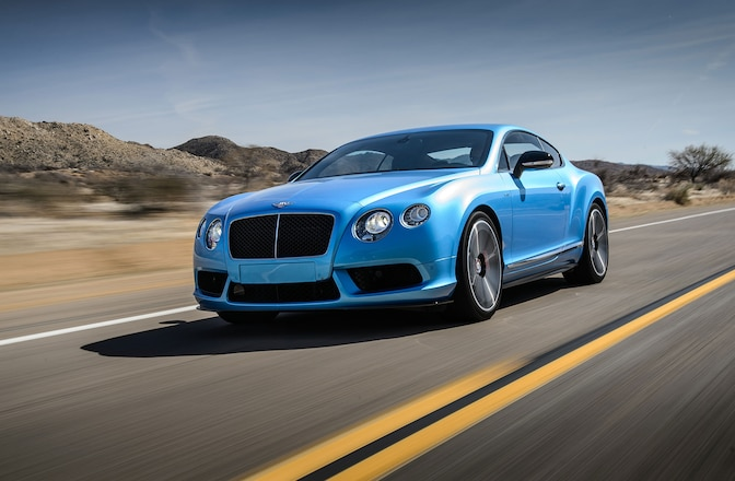 2014 Bentley Continental GT V8 S Driver Side Front View 01