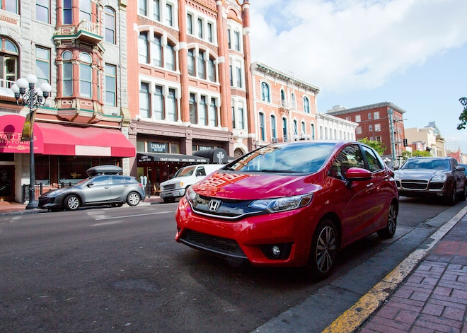2015 Honda Fit First Drive Driver Side Front View 01