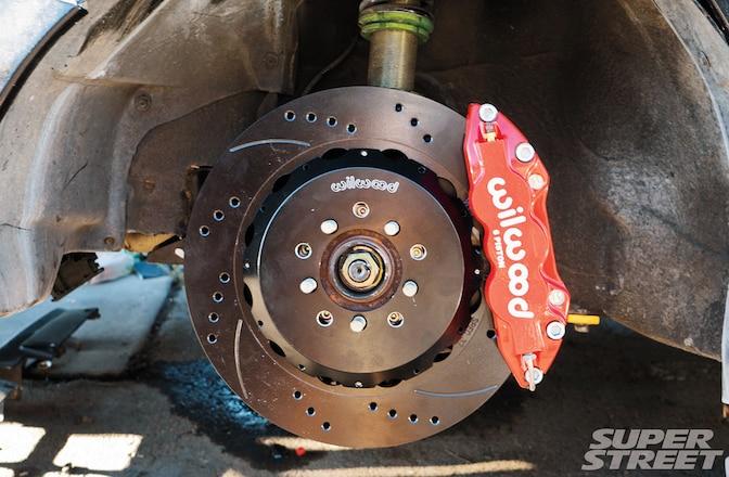 1998 Subaru Legacy GT Brake Suspension Upgrade 01
