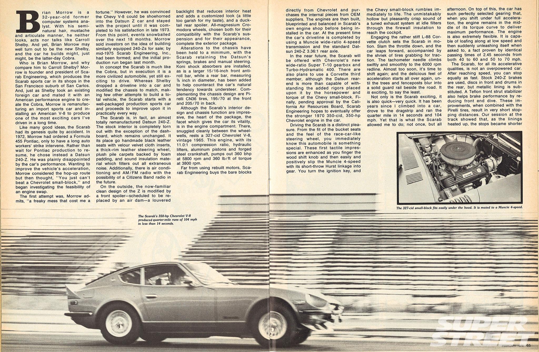 1972 Datsun 240Z - 650hp of Chevy Power