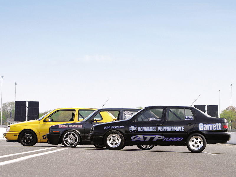 Fast Volkswagens Golf GTi VR6s - Eurotuner Magazine