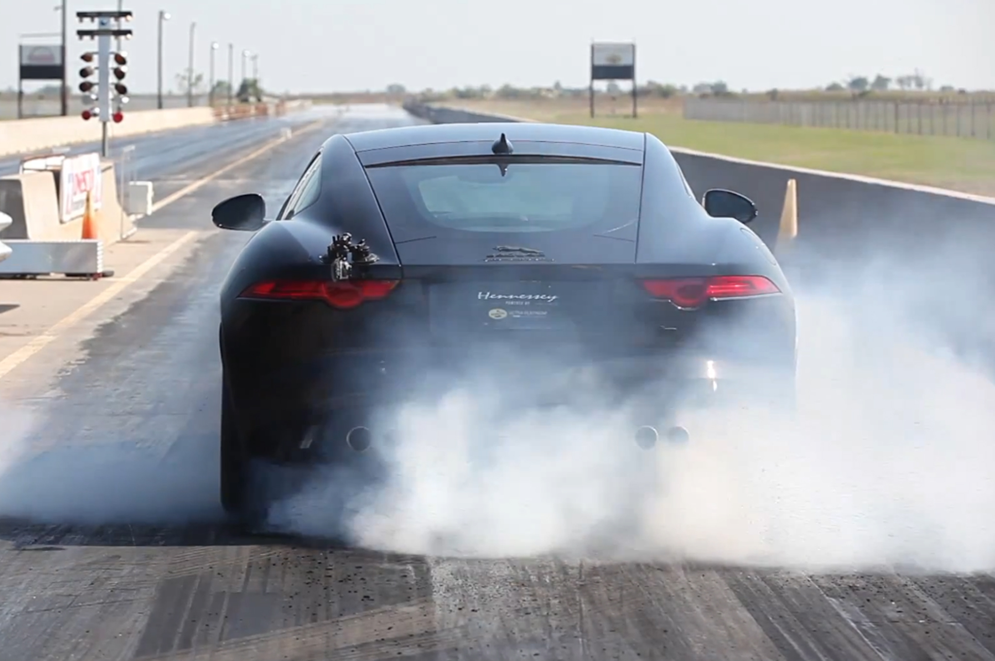 623hp hennessey hpe600 jaguar f type r released w video super street